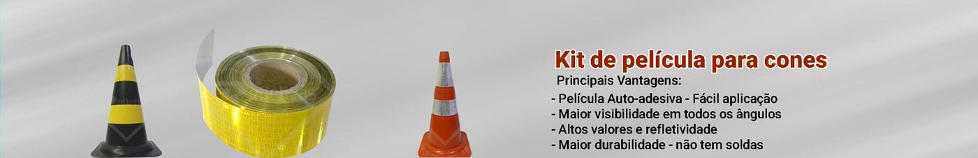 Kite película para cones