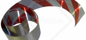 Faixas Refletivas para pára-choque, faixa refletiva para carroceria, faixa zebrada.